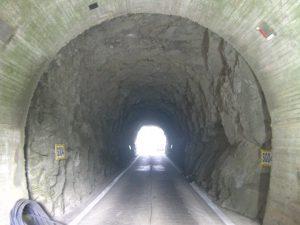 トンネル吹付工事 着工前